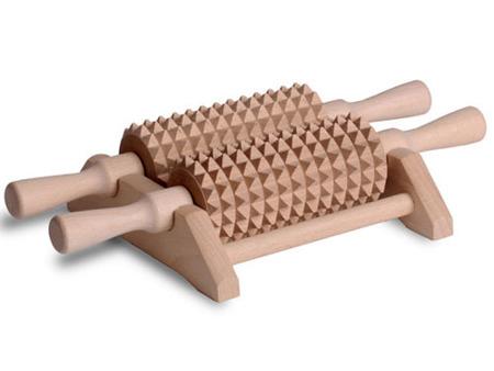 Aparat do masażu stóp i ciała 2 zd. rolki