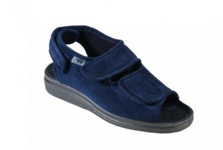 Sandały ortopedyczne damskie Dr Orto 676 D003 Granat